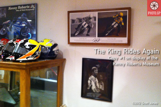 Kenny Roberts Sr. The King Rides Again Museum