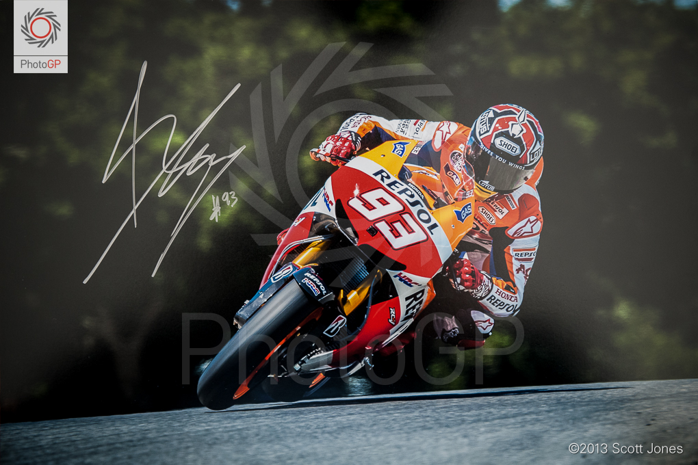 Marc Marquez First in Flight Signed Edition