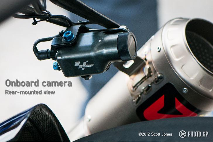 MotoGP onboard video camera
