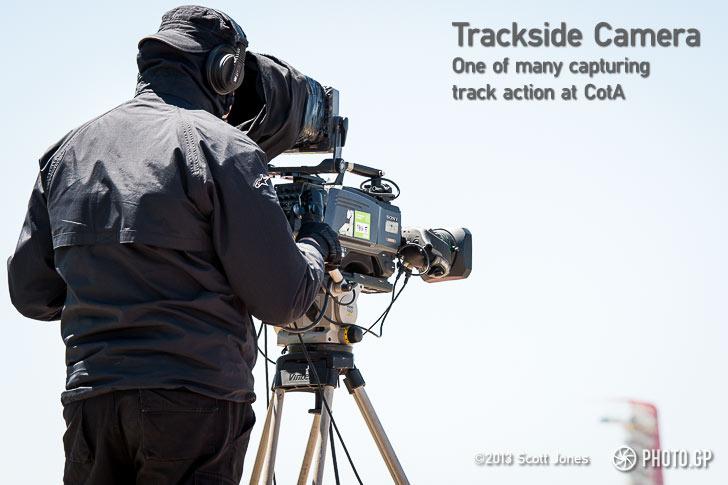 MotoGP trackside cameraman Austin CotA