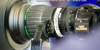 Fujinon HD video camera in MotoGP garage