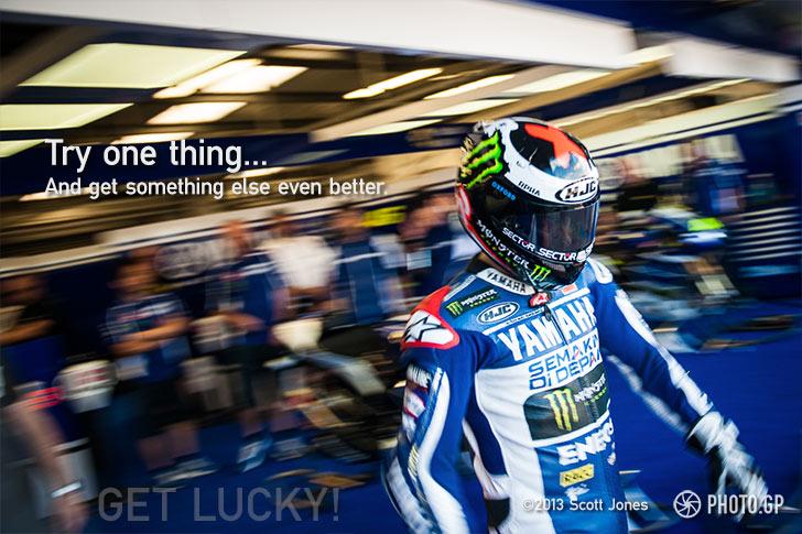 MotoGP Jorge Lorenzo Silverstone garage Yamaha