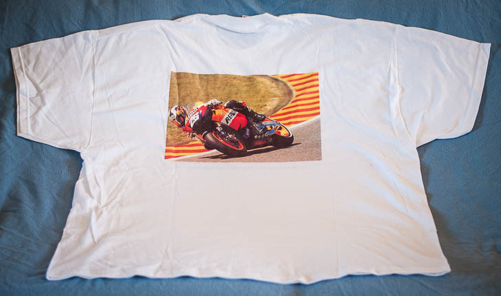 Repsol t-shirt back