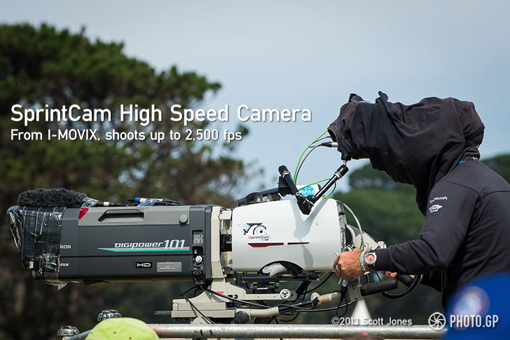 I-MOVIX high speed video camera MotoGP