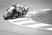 Casey Stoner Elbow Down BW
