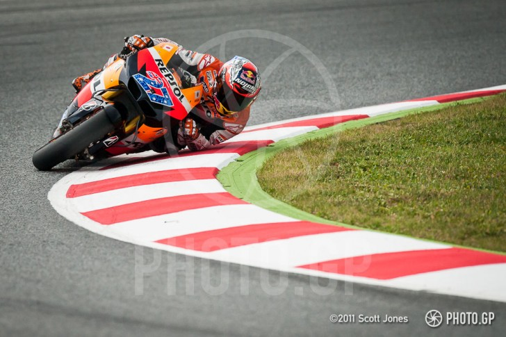 Casey Stoner Elbow Down Color