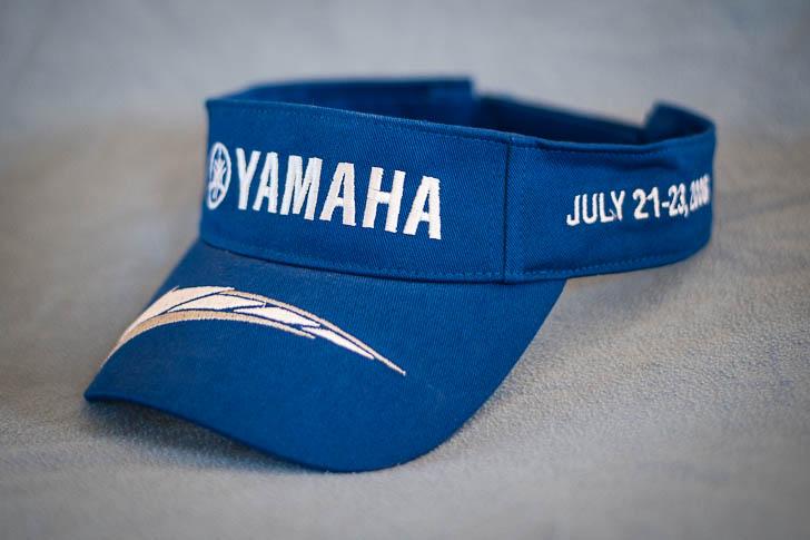 Yamaha Visor Hat