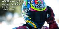 Chaz Davies helmet design Laguna Seca