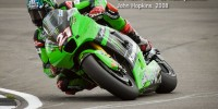 John Hopkins Kawasaki at Donington Park, 2008 MotoGP