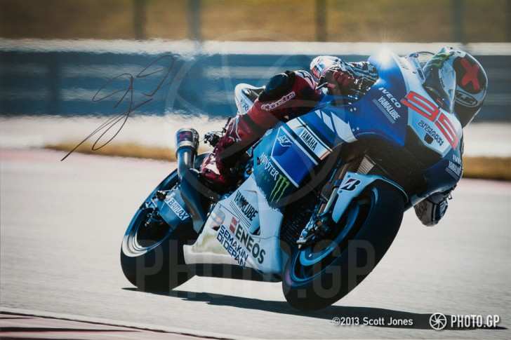 Jorge Lorenzo Circuit of the Americas 2013