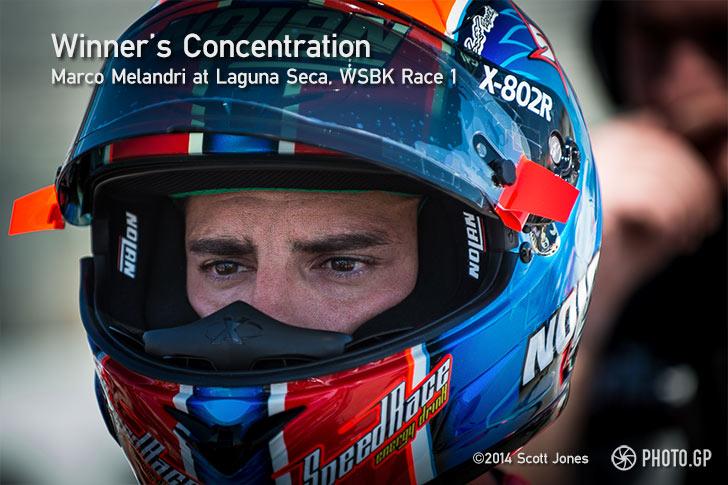 Marco Melandri WSBK Laguna Seca 2014