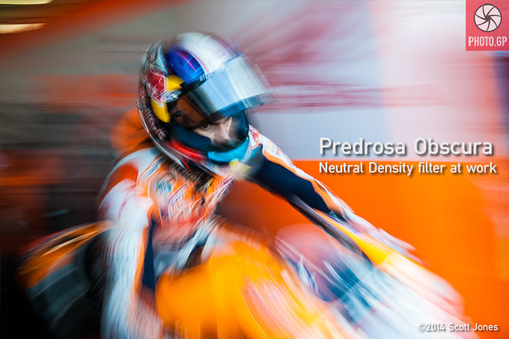 Dani Pedrosa Silverstone pit box 2013