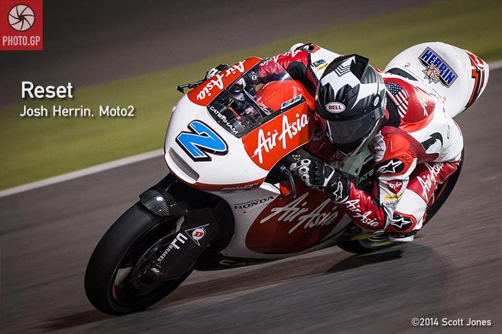 Josh Herrin MotoGP Moto2 Losail Qatar