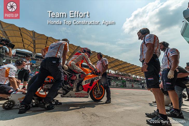 Honda Wins Constructor Title at Sepang
