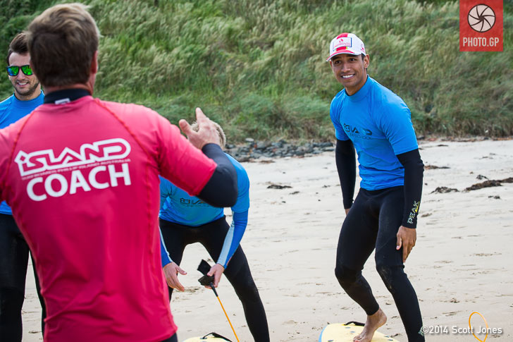 Yonny Hernandez surfing Phillip Island