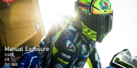 Valentino Rossi pit lane Valencia test 2014 Yamaha
