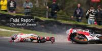 Marc Marquez Phillip Island crash 2014 Repsol Honda