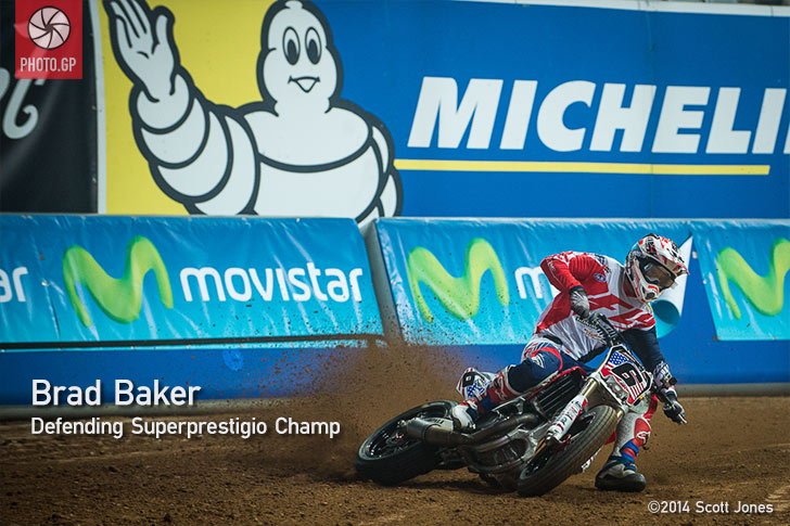Superprestigio 2014 Brad Baker