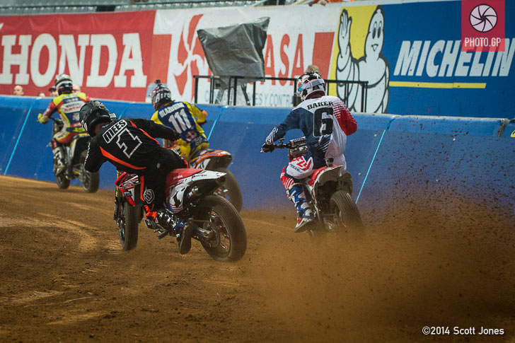 Superprestigio 2014 Jared Mees Brad Baker