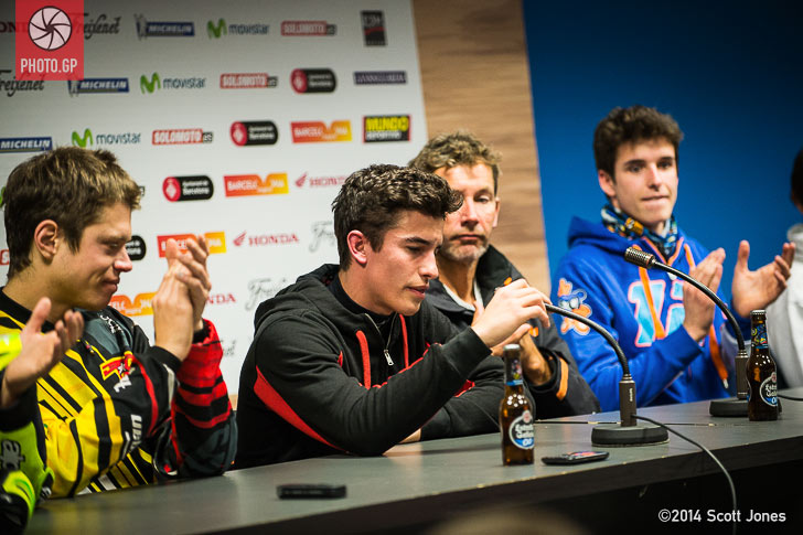 Marc Marquez press conference