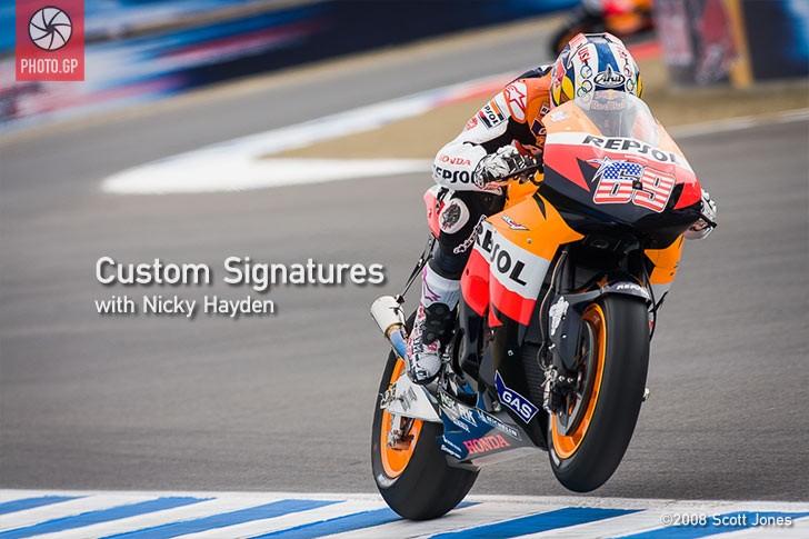 Nicky Hayden Repsol Honda Laguna Seca
