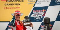 Nicky Hayden podium IMS 2009