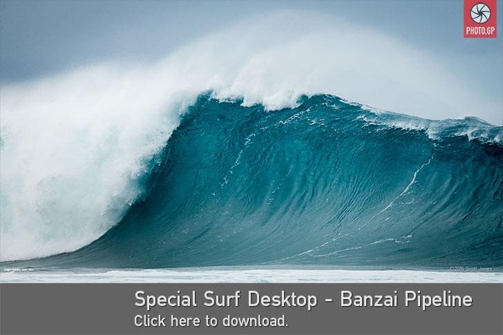 desktop Hawaii banzai pipeline surf wave