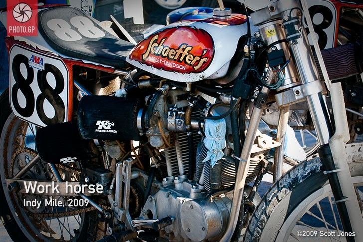 Harley Davidson Flat Tracker