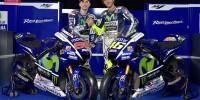Yamaha MotoGP 2015 Jorge Lorenzo Valentino Rossi