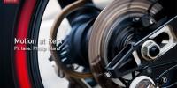 Yamaha wheel spinning in pit lane Bridgestone