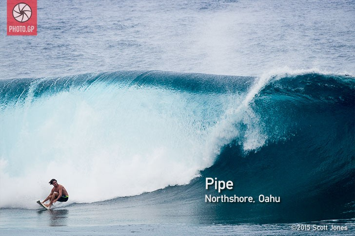 Banzai Pipeline Oahu Hawaii north shore surfing