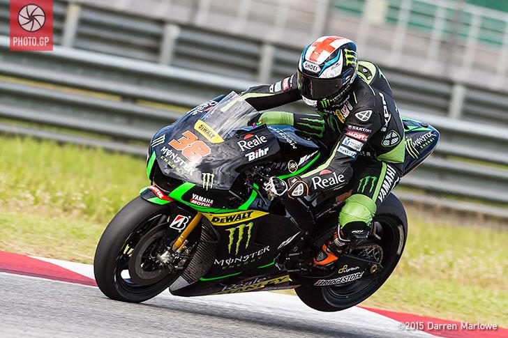 Bradley Smith Yamaha MotoGP Sepang Test 2015 Darren Marlowe