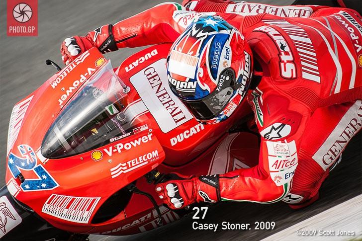 Casey Stoner Sachsenring 2009 Ducati