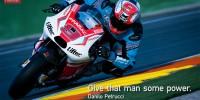 Danilo Petrucci Valencia Test 2014 Pramac Ducati