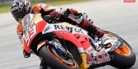 Marc Marquez Sepang Test MotoGP Honda