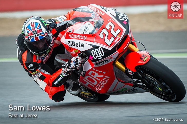 Sam Lowes Silverstone Moto2 2014 Speed Up