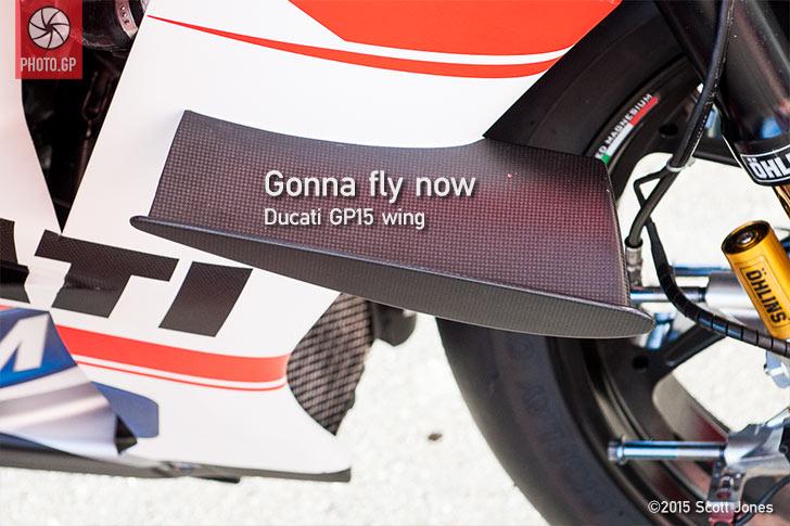 Ducati GP15 wing