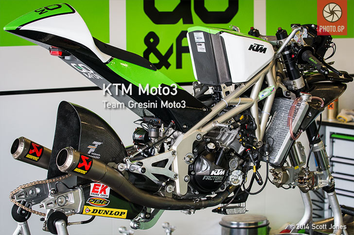 Gresini KTM Moto3 - Photo.GP