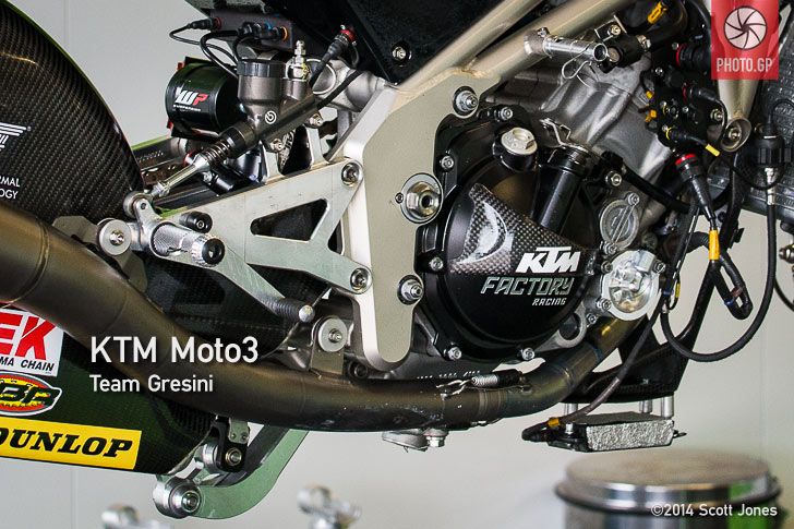 Gresini KTM Moto3 close up