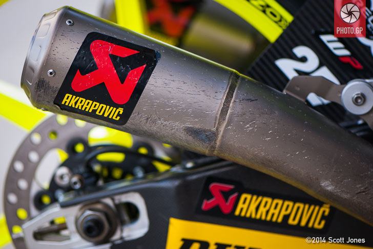 Danny Kent KTM Red Bull Moto3 Akrapovic pipe