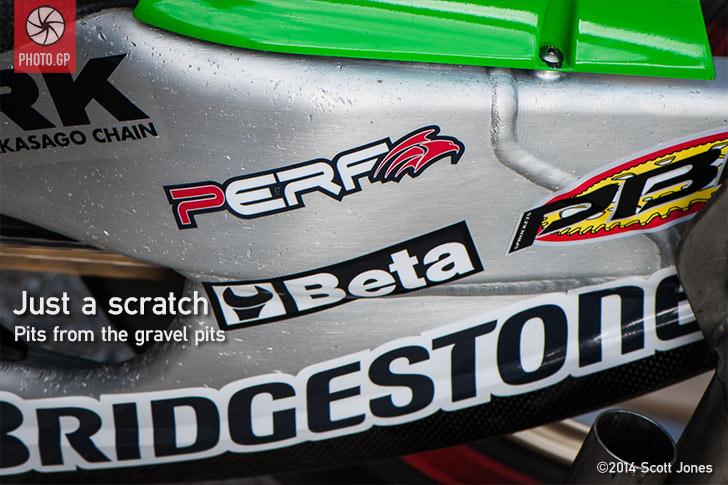 LCR Honda swing arm gravel pits