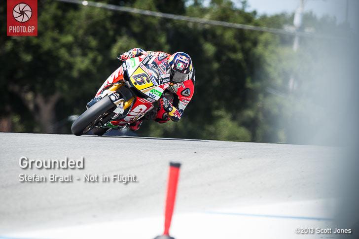 Stefan Bradl Turn 1 Laguna Seca