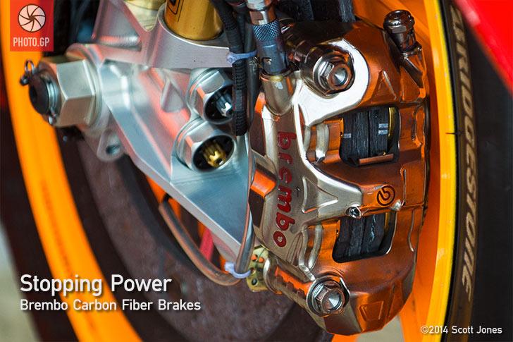 Team Repsol Honda Brembo brake
