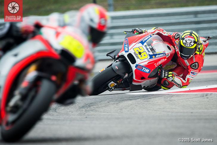 Andrea Iannone Ducati GP15 CotA 2015