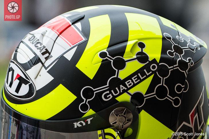 Andrea Iannone KYT helmet