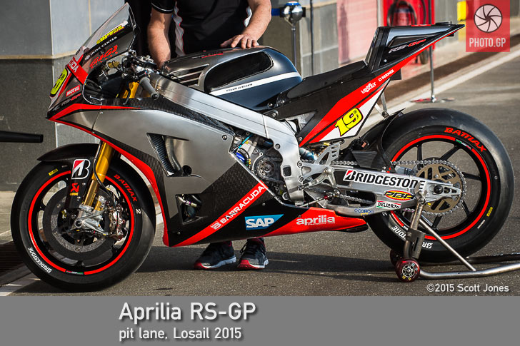 Up Close: Aprilia RS-GP 2015 MotoGP Bike