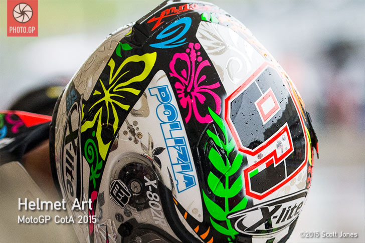 Helmet Art - MotoGp CotA 2015 - Photo.GP