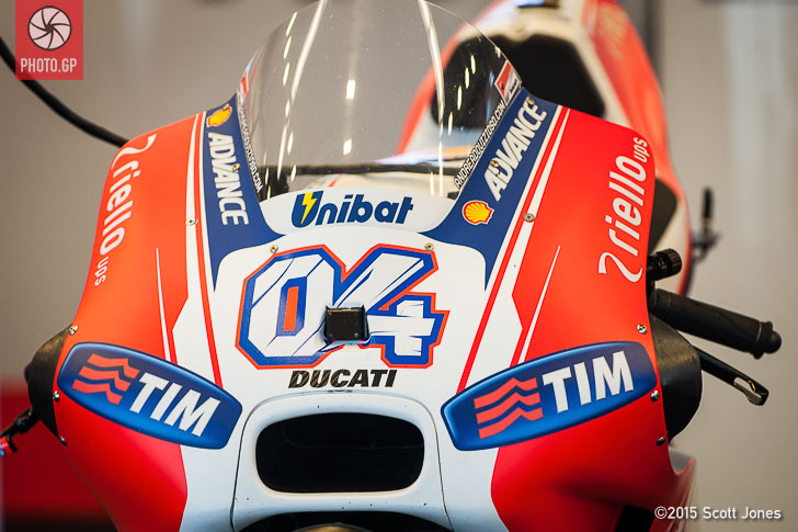 Ducati GP15 fairing extensions