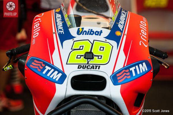 Up Close: Ducati GP15 Winglets Fairing Extensions - Photo.GP
