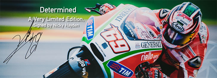 Nicky Hayden Determined edition